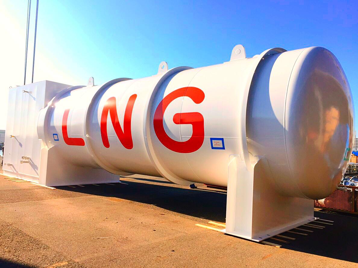 ガス燃料供給システム・LNGタンク